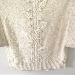Anthropologie Sweaters - Anthropologie Sleeping On Snow Cropped Cardigan
